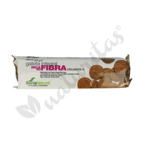 Galletas Integrales Fibra S/A 165 gr de Soria Natural