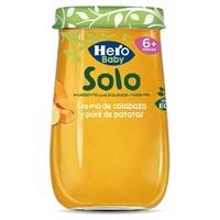 Hero Baby Solo Crema de calabaza y puré de patatas Eco