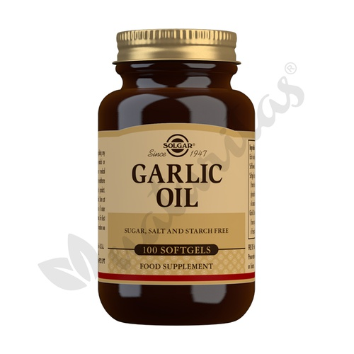 Aceite de Ajo (Garlic Oil) 100 cápsulas blandas de Solgar