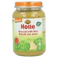 Jar of Broccoli with Organic Brown Rice