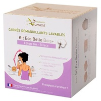 Kit Eco Belle algodón desmaquillante