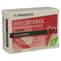 Arkosterol Levadura Roja de Arroz y Coenzima Q10
