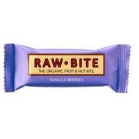 Superbarritas Veganas Raw-Bite (Vainilla-Frutas del Bosque)