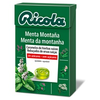 Ricola Mountain Mint Sugar Free Candies