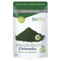 Chlorella raw powder