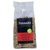 Granola, quinoa et noix de coco