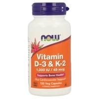Vitamina D-3 y K-2