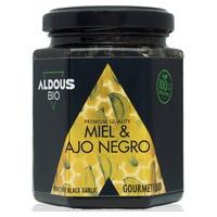 Authentischer Bio-Honig mit schwarzem Bio-Knoblauch