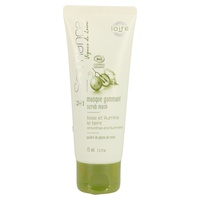 2-in-1 organic mask softens and brightens skin
