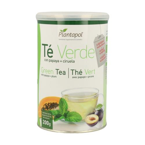 Té Verde con Papaya y Ciruela