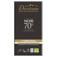 Tableta de chocolate negro 70% original