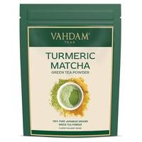Kurkuma Matcha grüner Tee