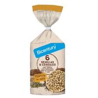 Tortita de Semillas y Cereales Maíz