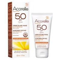 Crème solaire visage SPF50