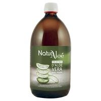 Organic aloe vera pulp
