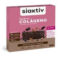Barritas con Colágeno Sabor Chocolate y Almendras