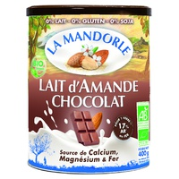 Organic chocolate almond milk