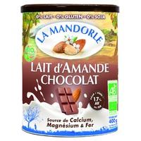 Bebida de almendras y chocolate en polvo Bio