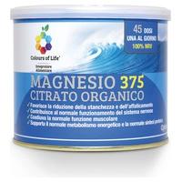Polvo de citrato orgánico de magnesio 375