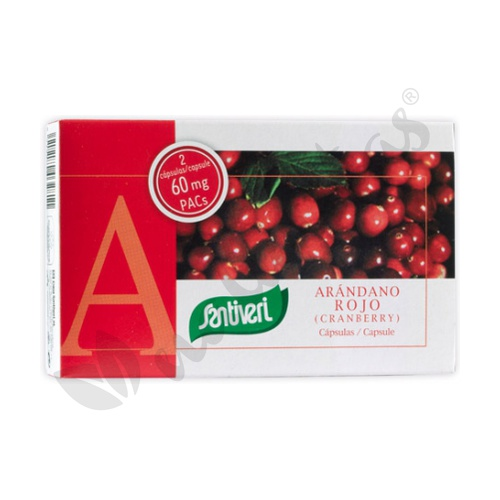 Arándano Rojo (carnberry) 40 Cápsulas de Santiveri