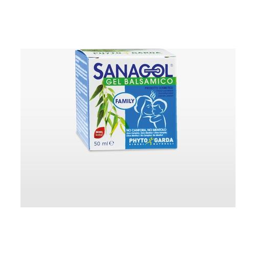 Sanagol gel balsámico - alivio de la respiración