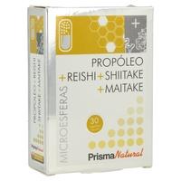 Propoleo+Reishi+Shiitake+Maitake Microesferas