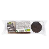 Galletas Bio  Soles de Espelta con Cacao Rellenas de Crema Blanca