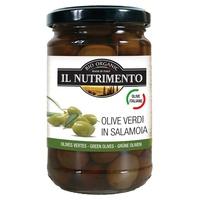 Olives vertes italiennes dénoyautées en saumure