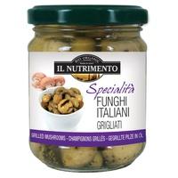 Grillowane włoskie grzyby