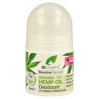 Déodorant à l'huile de chanvre biologique