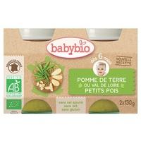Petits Pots Pomme De Terre Petits Pois (Ex: Légumes Provençale) Bio (dès 6 mois)