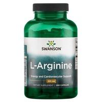 L-arginine, 500 mg