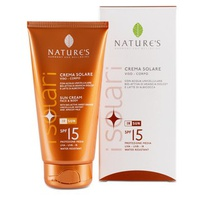 Crème solaire visage et corps SPF15