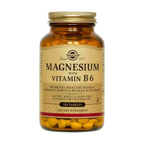 Magnesio con Vitamina B6