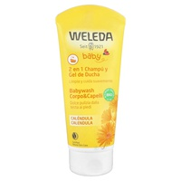 Żel pod prysznic i szampon dla niemowląt z nagietka