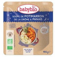 Doypack Soup Potimarron Organic Parsnip (from 6 months)