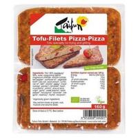 Tofu pizza en filetes