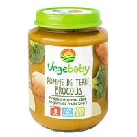 Small jars Baby Potato Broccoli 8 months