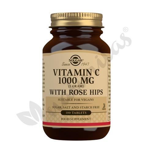 Vitamina C con escaramujos