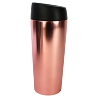 Chrome Pink Stainless Steel Travel Thermos
