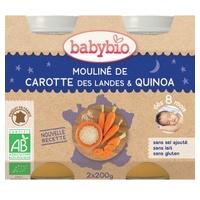 Menù Pentolini Verdure e Quinoa Biologica (da 8 mesi)