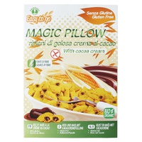 Magic pillow filled with delicious cocoa cream