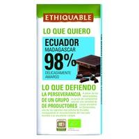 Chocolate Extremo Cacau 98% Bio