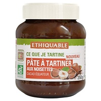 Crema de Cacao y Avellanas Bio
