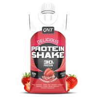 Delicious whey protein shake strawberry