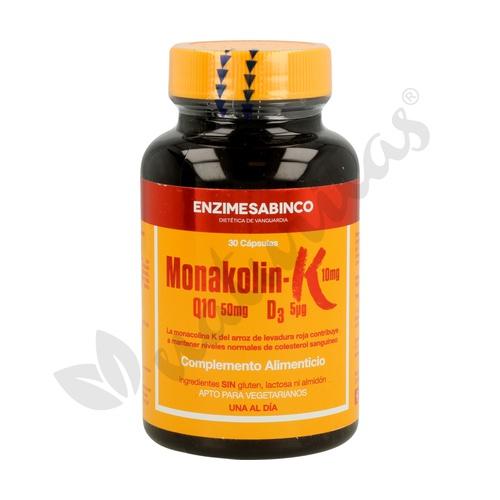 Monakolina+Q10+D3 30 Cápsulas de Enzime