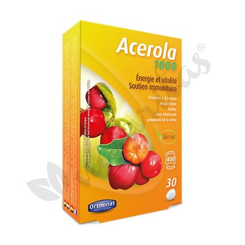 Acerola 1000 30 comprimidos de 1000 mg de Orthonat