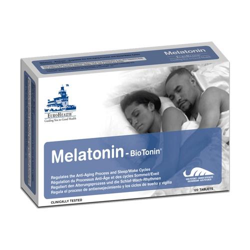 Melatonin Biotonin 120 comprimidos de 0,5 mg Sublinguales de Eurohealth