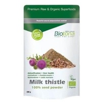 Milk Thistle Seed Powder Cardo Mariano Bio