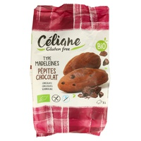 Magdalenas con pepitas de chocolate Bio